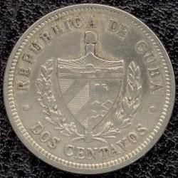 Moneda > 2centavos, 1915-1916 - Cuba  - obverse