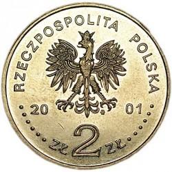 Монета > 2злотих, 2001 - Польща  (Бурштиновий шлях) - obverse