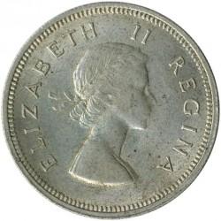 Monēta > 2šiliņi(florīns), 1953-1960 - Dienvidāfrika  - obverse