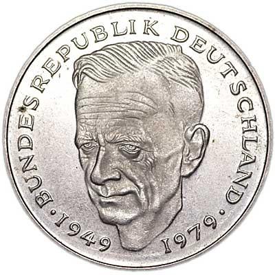 Kurt Schumacher Germany Coin Value
