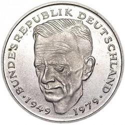 Moneta > 2markės, 1979-1993 - Vokietija  (Dr. Kurt Schumacher. 30th Anniversary - Federal Republic (1949 - 1979)) - reverse