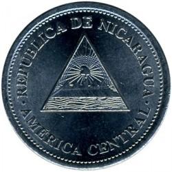 Монета > 50сентаво, 2007-2014 - Нікарагуа  - reverse