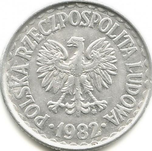 1 Złoty 1957 1985 Polen Münzen Wert Ucoinnet