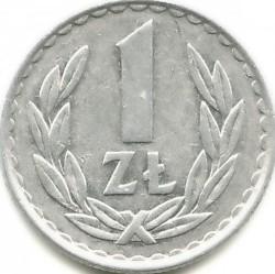Монета > 1злотый, 1957-1985 - Польша  - reverse