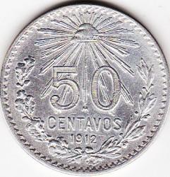 Νόμισμα > 50Σεντάβος, 1905-1918 - Μεξικό  - reverse