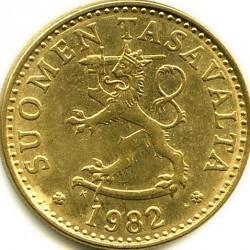 Монета > 20пенни, 1963-1990 - Финляндия  - obverse