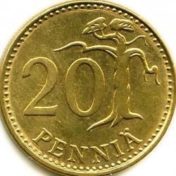 Монета > 20пенни, 1963-1990 - Финляндия  - reverse