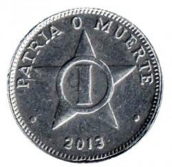 Moneta > 1centavo, 1998-2014 - Kuba  - reverse