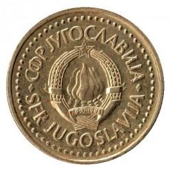 Coin > 1dinar, 1982-1986 - Yugoslavia  - obverse