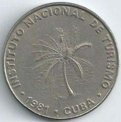 Moneta > 50centavos, 1981 - Kuba  - obverse