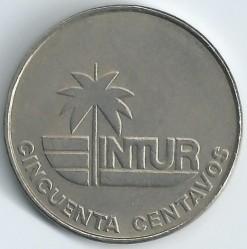 Moneta > 50centavos, 1981 - Kuba  - reverse