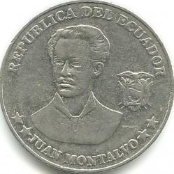 Mynt > 5centavos, 2000-2003 - Ecuador  - obverse