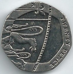 العملة > 20بنس , 2015-2019 - المملكة المتحدة  - reverse