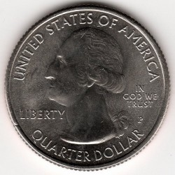 Münze > ¼ Dollar, 2016 - USA  (Shawnee National Forest) - obverse