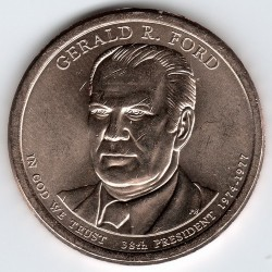 Монета > 1долар, 2016 - США  (Президент США - Джеральд Форд (1974–1977)) - obverse
