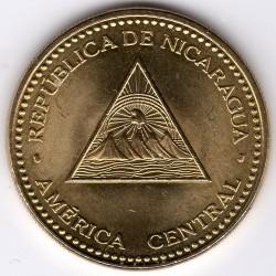 Νόμισμα > 25Σεντάβος, 2002-2014 - Νικαράγουα  - obverse