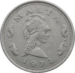Moneda > 2centavos, 1972 - Malta  - obverse