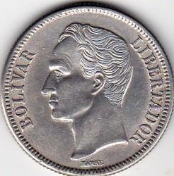 Münze > 2Bolivares, 1945 - Venezuela  - reverse