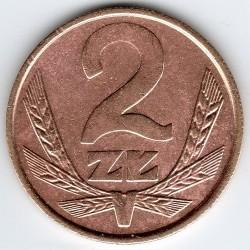 Coin > 2zlote, 1986-1988 - Poland  - obverse