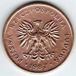 Coin > 2zlote, 1986-1988 - Poland  - reverse