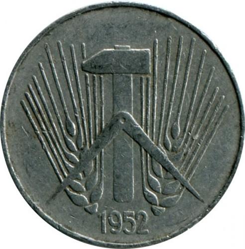 10 Pfennig 1952 1953 Deutschland Ddr Münzen Wert Ucoinnet