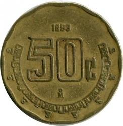 Νόμισμα > 50Σεντάβος, 1992-2009 - Μεξικό  - obverse