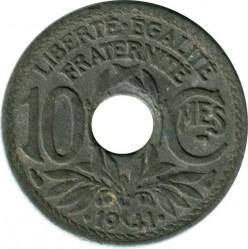سکه > 10سنتیم, 1941 - فرانسه  - obverse