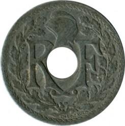 سکه > 10سنتیم, 1941 - فرانسه  - reverse