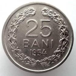 Moneta > 25bani, 1953-1954 - Romania  - reverse