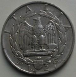 Moneta > 2liry, 1936 - Włochy  - reverse