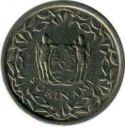 العملة > 25سنت, 1987-2015 - سورينام  - reverse
