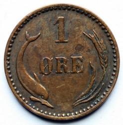 Moneda > 1öre, 1904 - Dinamarca  - reverse