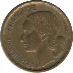 Minca > 10francs, 1950-1958 - Francúzsko  - obverse