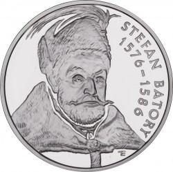 Moneda > 10zlotych, 1997 - Polonia  (Polish Kings and Princes - Stefan Batory (1576-1586) /small portait/) - reverse