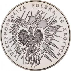 Moneda > 10zlotych, 1998 - Polonia  (80 aniversario - Independencia de Polonia) - obverse