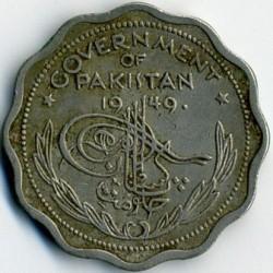 Münze > 1Anna, 1948-1952 - Pakistan  - obverse