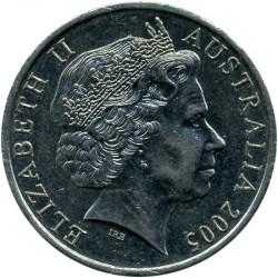 سکه > 20سنت, 2005 - استرالیا  (60th Anniversary - End of World War II) - obverse