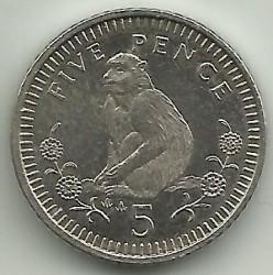 מטבע > 5פנס, 1990-1997 - גיברלטר  - reverse