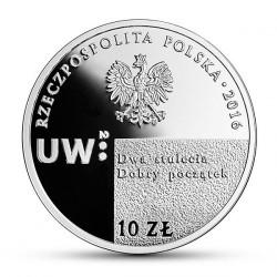 Moneda > 10zlotych, 2016 - Polonia  (200 aniversario - Universidad de Varsòvia) - obverse