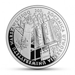 Moneda > 10zlotych, 2016 - Polonia  (200 aniversario - Universidad de Varsòvia) - reverse