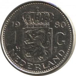 Moneta > 1gulden, 1980 - Holandia  - reverse