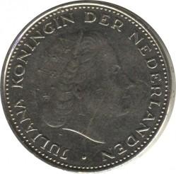 Кованица > 2½гулдена, 1969-1980 - Холандија  - obverse