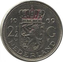 Кованица > 2½гулдена, 1969-1980 - Холандија  - reverse