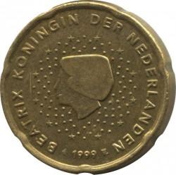 Moneda > 20céntimos, 1999-2006 - Países Bajos  - obverse