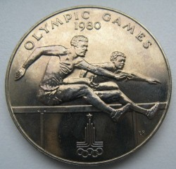 Монета > 1 тала, 1980 - Самоа  (XXII Summer Olympic Games, Moscow 1980) - obverse
