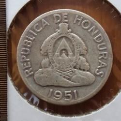Кованица > 50центи, 1951 - Хондурас  - obverse