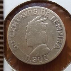 Кованица > 50центи, 1951 - Хондурас  - reverse