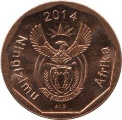 Moeda > 10cêntimos, 2014 - África do Sul  - obverse