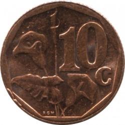 Moneta > 10centów, 2014 - Afryka Południowa  - reverse