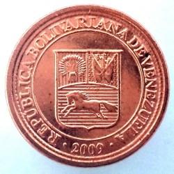Монета > 1сентимо, 2007-2009 - Венецуела  - obverse